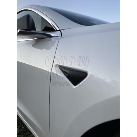 Protection caméra latérale en carbone - Tesla Model S, X, 3 et Y