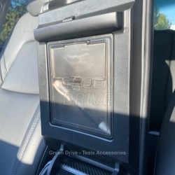 Hidden storage armrest - Tesla Model 3 and Y