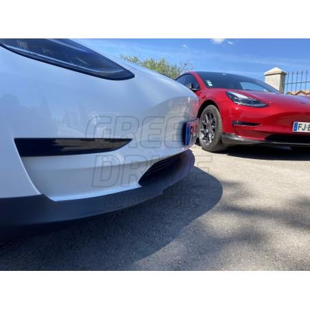 Spoiler avant en carbone - Tesla Model 3