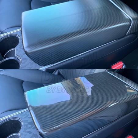 Carbon Front Armrest - Tesla Model 3 and Y