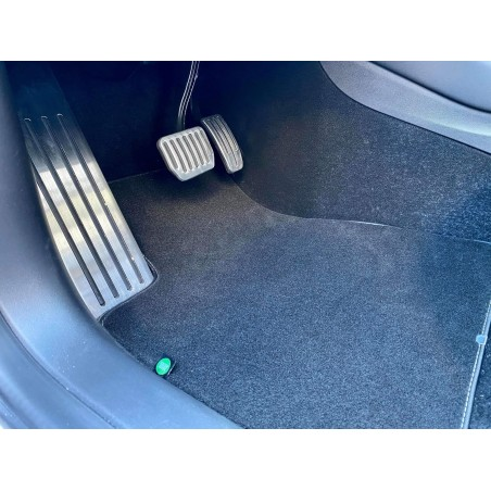Tapis intérieur moquette ou tout temps PVC - Tesla Model 3