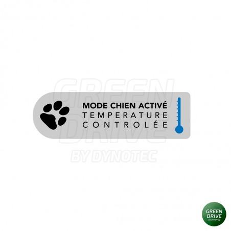 Sticker / autocollant DOG MODE