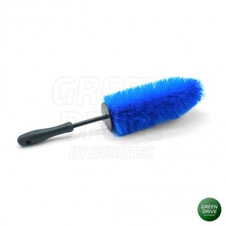 Set of 2 premium brushes for rim cleaning