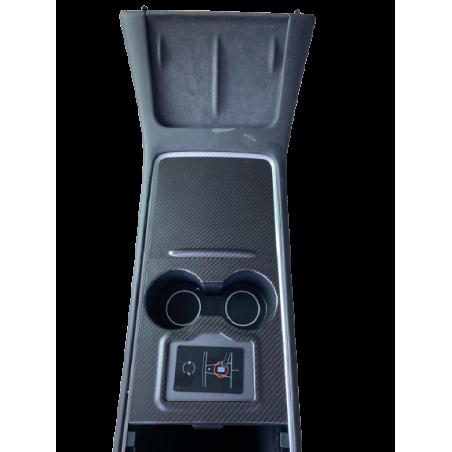 Console centrale en carbone - Tesla Model 3 et Y 2021