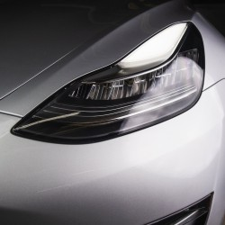 Headlight and fog lamp protection and PPF tint - Tesla Model 3 and Y