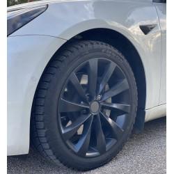 """4 """"Twisted Turbines"""" 18'' velgen voor Tesla Model 3 en Tesla Model Y"""
