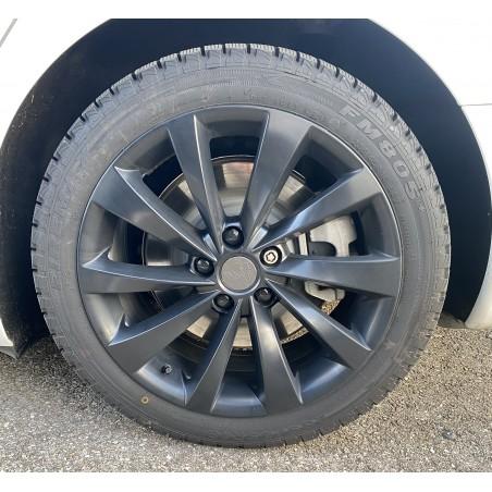"Lot 4 jantes ""Twisted Turbines"" - Tesla Model 3"
