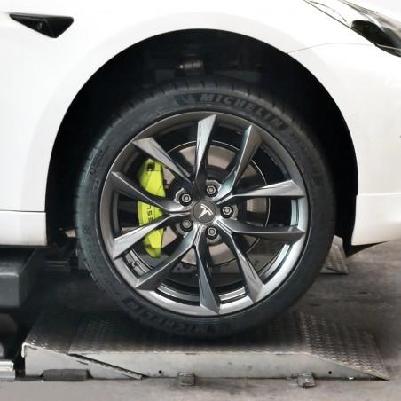 """Kit de 4 jantes arachnids 18'', 19"""" ou 20'' pour Tesla Model 3 (Flow forming)"""
