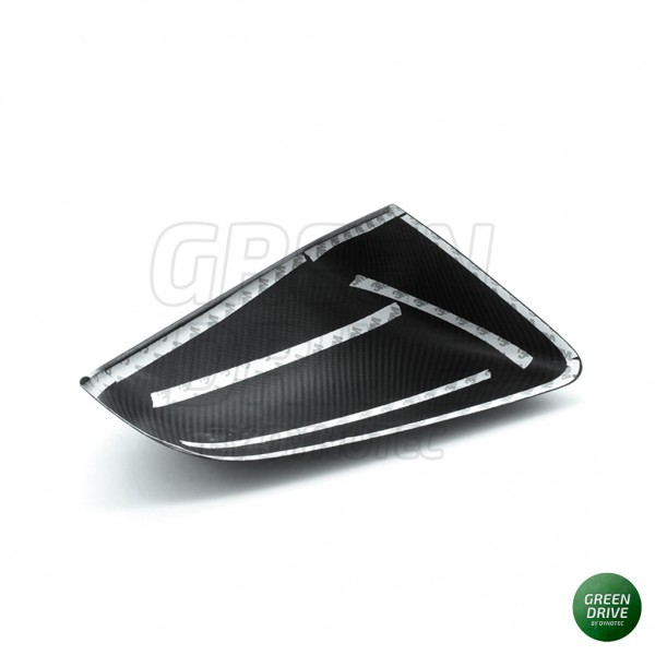 Carbon Rearview Mirror Covers - Tesla Model X