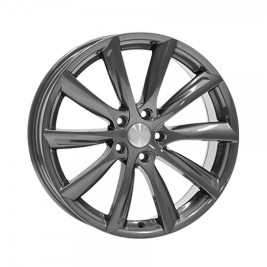 """Pack 4 Turbine style wheels 18"""", 19"""" and 20""""."""