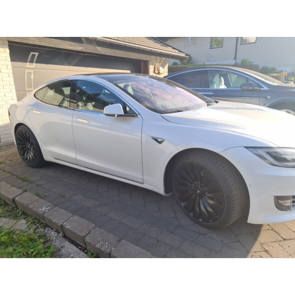"""Set of 4 Wheels 19"""" 20"""" and 21"""" UberTurbine Style for Tesla Model S, X, 3 and Y (Semi Forged)"""