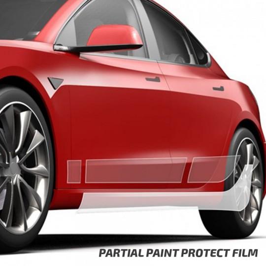 Protection PPF 3M ScotchGard bas de caisse - Tesla Model 3