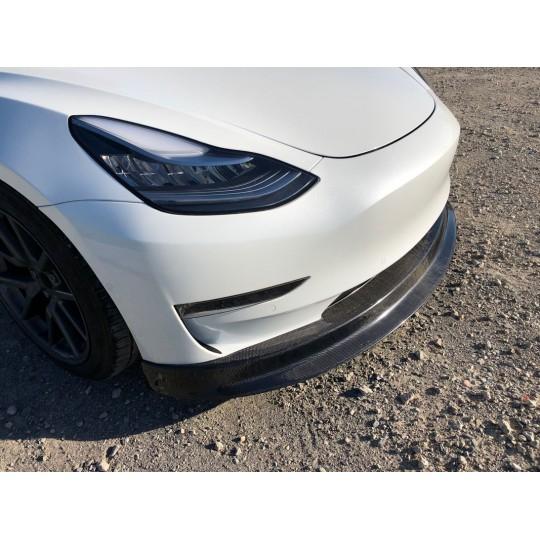 Spoiler avant en carbone MaierEV - Tesla Model 3
