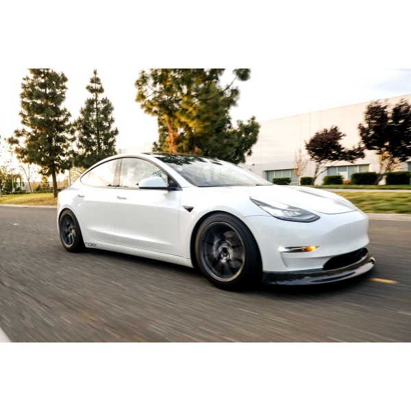 MaierEV carbon front spoiler - Tesla Model 3