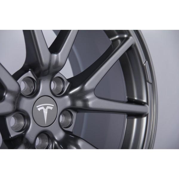 Kit 4 jantes style aéro - Tesla Model 3