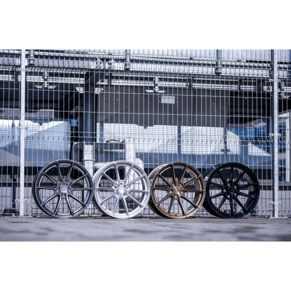 Set of 4 Japan Racing JR37 rims - Tesla Model 3 and Tesla Model Y