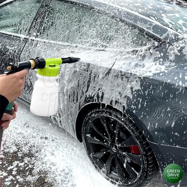Tesla cleaning foam gun