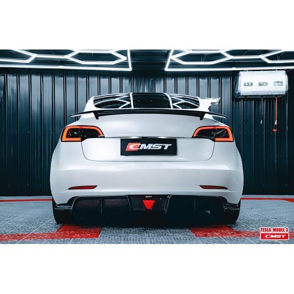 Rear diffuser body kit CMST V2 for Tesla Model 3