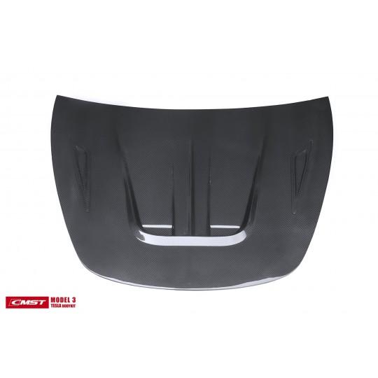 Capot en carbone CMST® - Tesla Model 3
