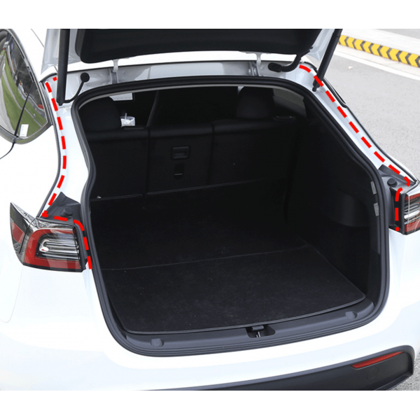 Noise reduction door seals - Tesla Model Y