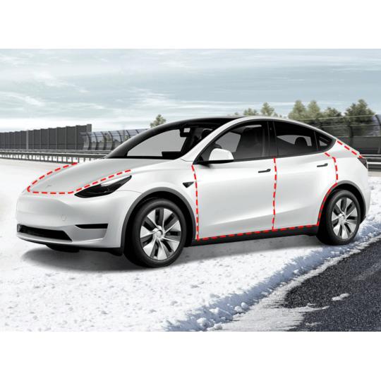 Joints de portes réduction de bruit - Tesla Model Y
