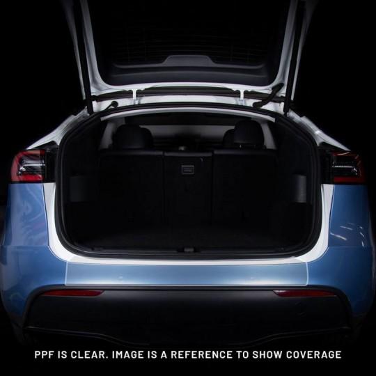 Protección del umbral del maletero en PPF - Tesla Model Y