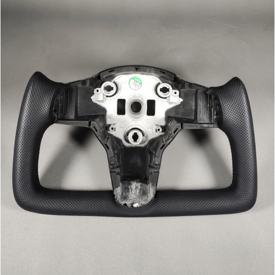 Volante estilo yugo personalizado para Tesla Model 3 y Model Y