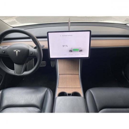 Middenconsole van echt hout - Tesla Model 3 en Y