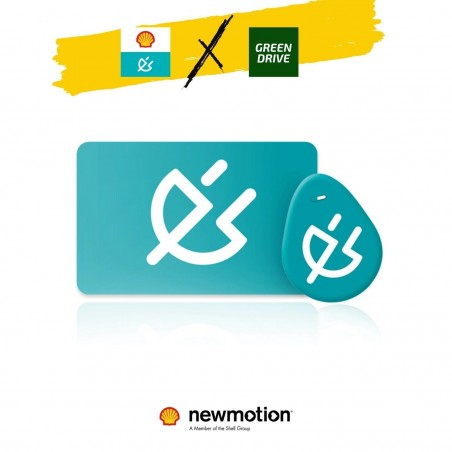 Carte / Badge de recharge New Motion - Shell