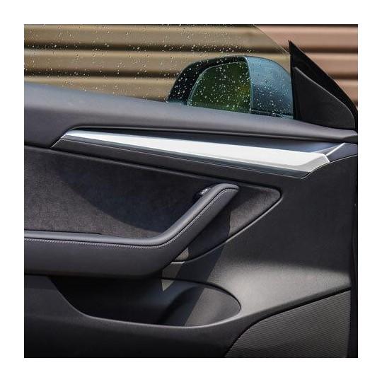 Covering for interior door trim - Tesla Model 3 and Tesla Model Y 2021