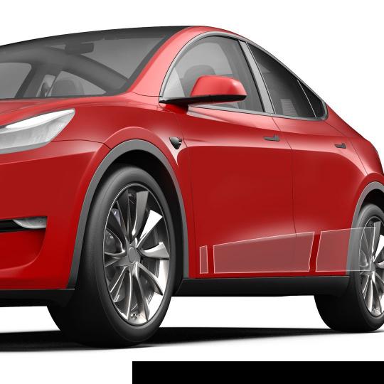 3M ScotchGard PPF underbody protection - Tesla Model Y