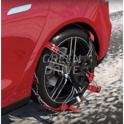 Verstärkte Stahl-Face Chains - Tesla Model S, X und 3