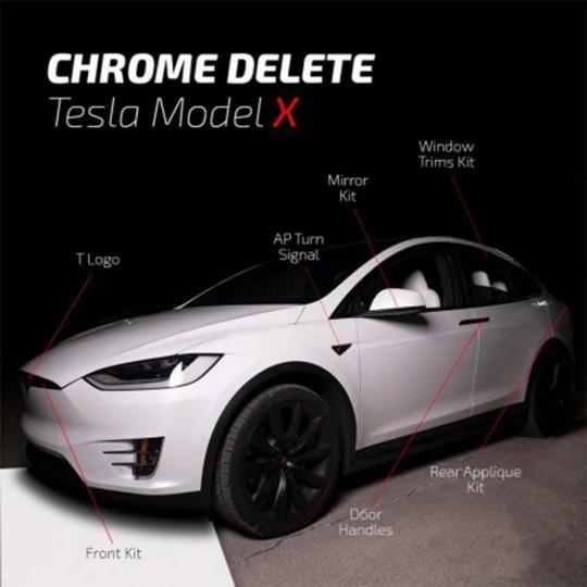 Chrom löschen - Tesla Model X