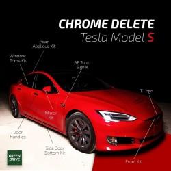 Eliminazione del cromo - Tesla Model S