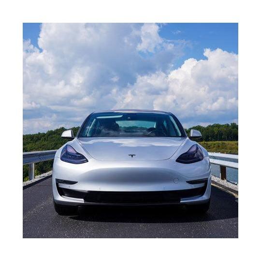 Covering pare-choc lip blackout pour Tesla Model 3