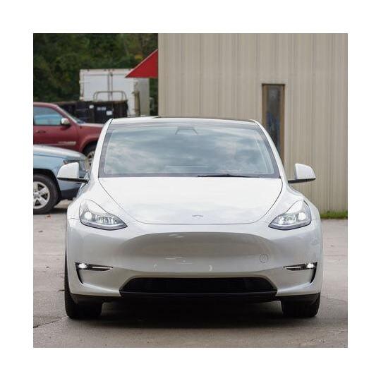 Copertura del paraurti a labbro oscurato per Tesla Model Y