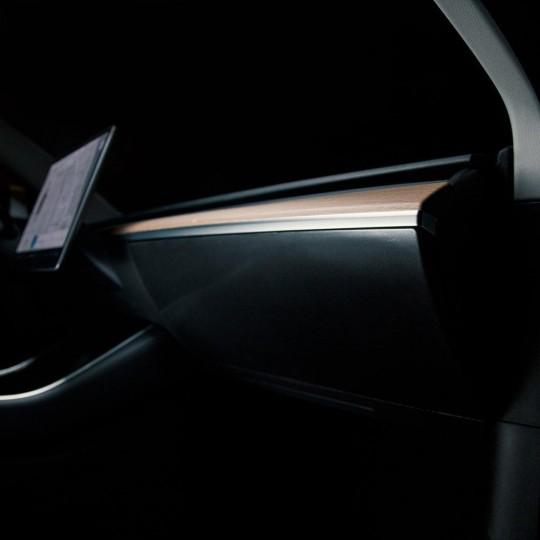PPF glove box protection for Tesla Model 3 and Tesla Model Y
