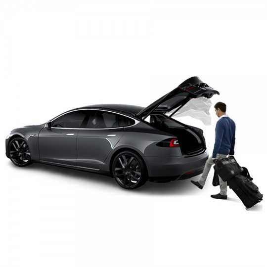 Opening with the foot sensor for rear trunk - Model S and X