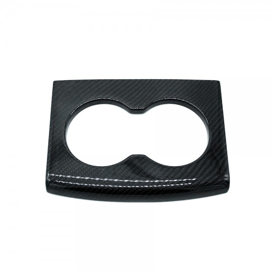 Front center console carbon cup holder - Tesla Model S and X