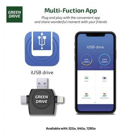 Clé USB Multi formats pour DashCam et Sentry Mode - Tesla Model S, X, 3 et Y