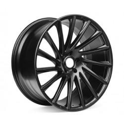 "4 Ruote rotanti da 22"" nero opaco -Tesla Model S e X"