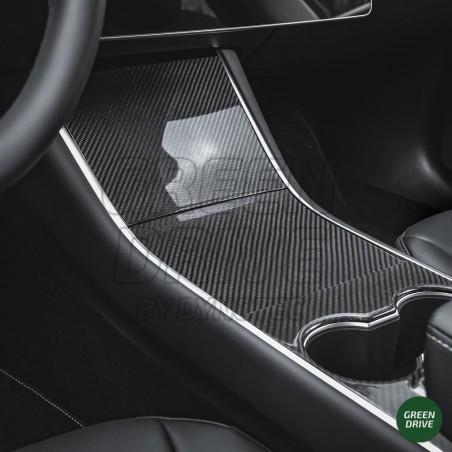 Console centrale en carbone - Tesla Model 3 et Y
