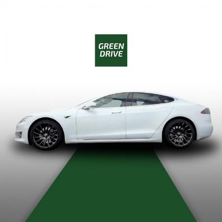"4 22"" matt black Rotary wheels -Tesla Model S and X"
