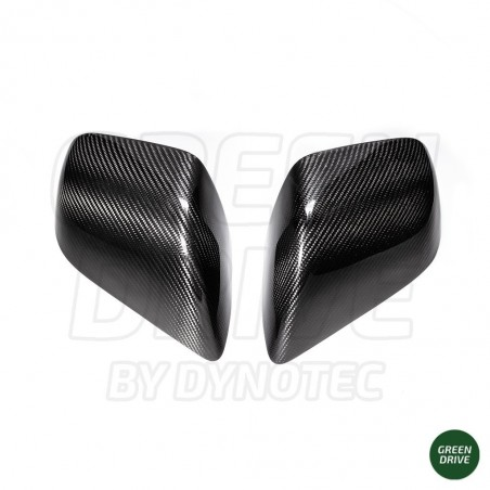 Carbon Rearview Mirror Cover - Tesla Model 3