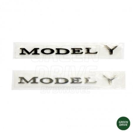 "Emblem ""MODEL Y"" for rear trunk - Tesla Model Y"