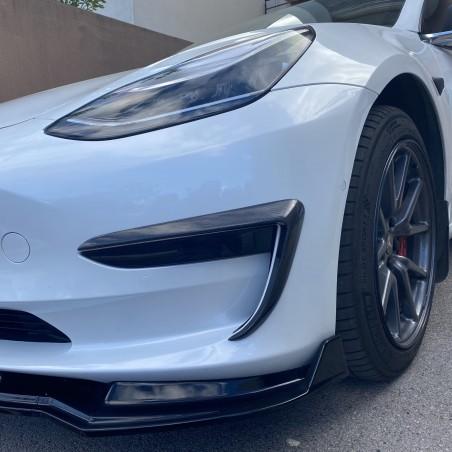 Carbon Front Fog Light - Tesla Model 3