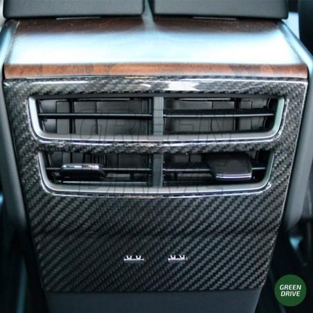 Grille de ventilation arrière en carbone - Tesla Model S et X
