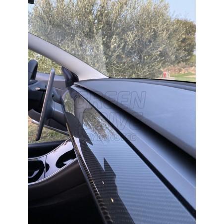Carbon Dashboard Insert - Tesla Model 3 and Y
