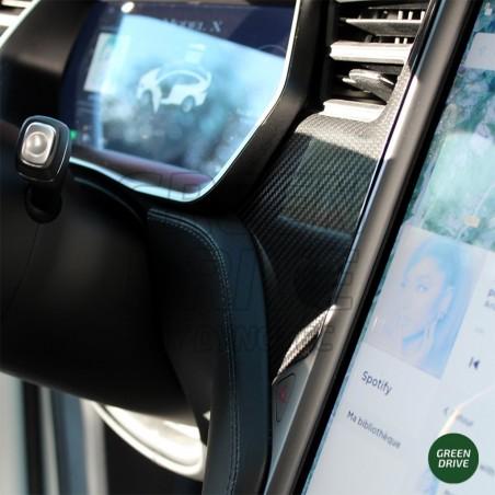 Insert tableau de bord en carbone - Tesla Model S et X
