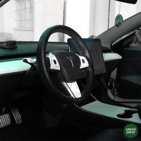 Intérieur rigide blanc mat - Tesla Model 3 et Y